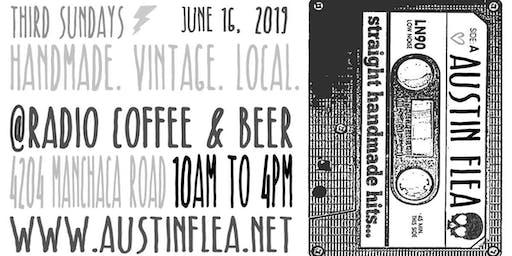 The Austin Flea at Radio Coffee & Beer - in June