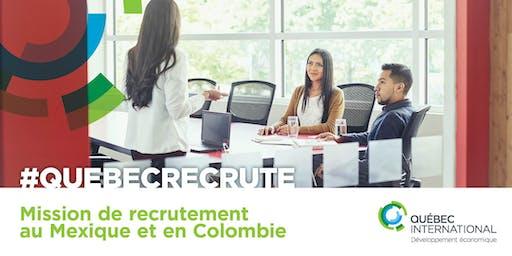 Mission de recrutement au Mexique et en Colombie