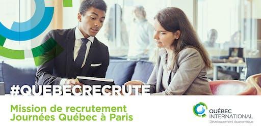 Mission de recrutement à Paris