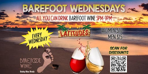 Latitudes Barefoot Wine Wednesdays
