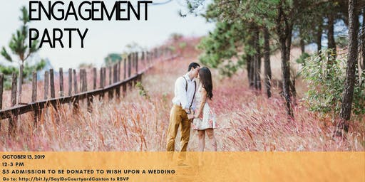 Engagement Party ~ Bridal Show