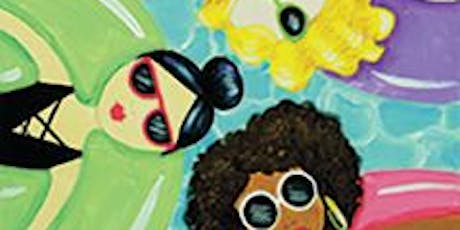 "CANVAS CLASS: ""Summer Squad"" - Adult Paint & Sip tickets"