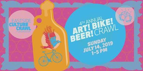 Art! Bike! Beer! Crawl Brewery Tour & Fundraiser tickets