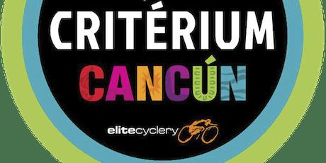 Criterium Cancun boletos