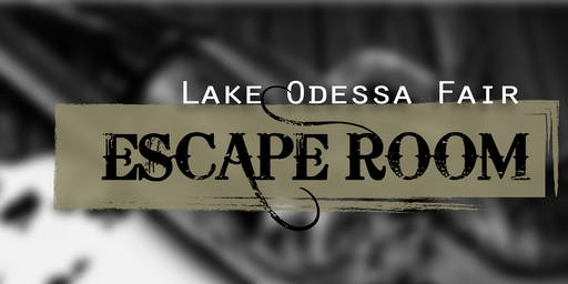 Escape Room @ the Lake Odessa Fair