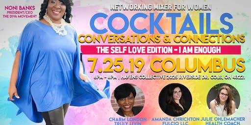 I am Enough-Self Love Edition - Cocktails, Conversations & Connections