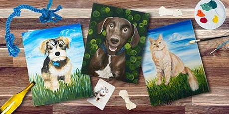 Pour and Paint (your Pet!) tickets