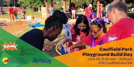 Caulfield Park KaBOOM! Playground Build tickets