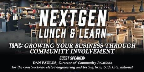 NEXTgen Lunch & Learn Sponsored by JM Lexus tickets