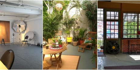 THE IRONWORKS NETWORKING STUDIOS SPACE OPEN HOUSE/FREE FOOD & MINI WORKSHOP tickets