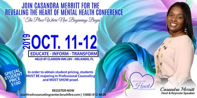 Revealing the Heart of Mental Health Conference 2019