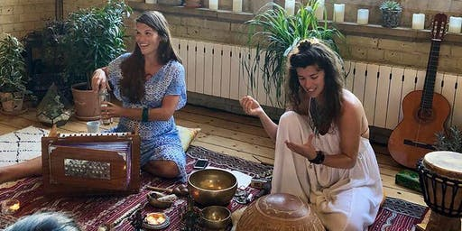 Solstice Cacao Ceremony, Kirtan and Medicine Songs in Queen's Wood with Paula and Regina