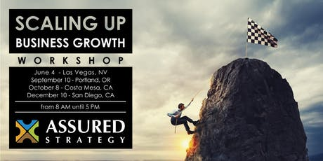 Scaling Up Business Growth Workshop - Portland, OR tickets