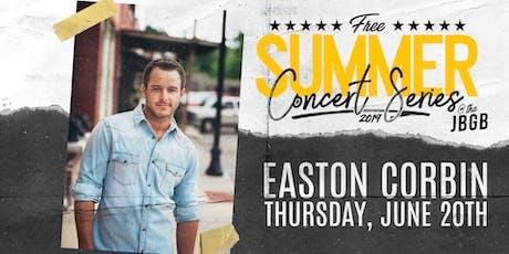 Easton Corbin live at JBGB June 20th tickets