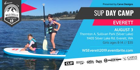 WILD SKILLS SUP Day Camp: Everett tickets