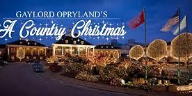 Mature Adults Trip to Nashville, TN (Ionosphere Tours/Christmas at Gaylord Opryland Hotel)