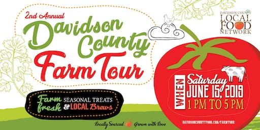 Davidson County Farm Tour 2019