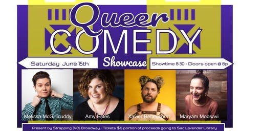 Queer Comedy Showcase @ Strapping