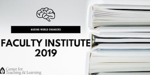 FACULTY INSTITUTE 2019