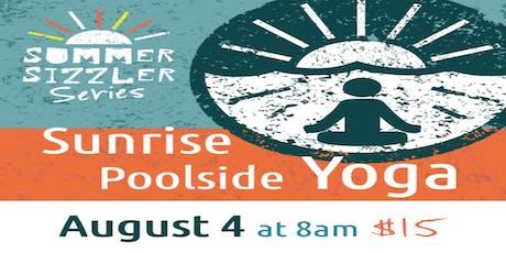 Sunrise Poolside Yoga and Mimosas tickets