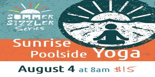 Sunrise Poolside Yoga and Mimosas
