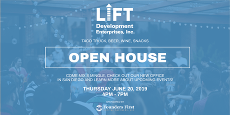 LIFT Development Enterprises' Open House ! tickets