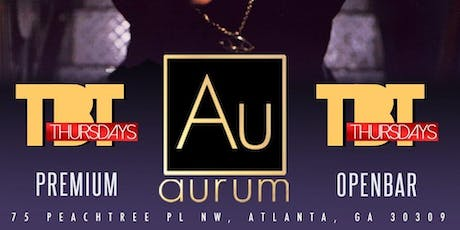 Open Bar  TBT ( AURUM) 90S-00'S edition.  tickets