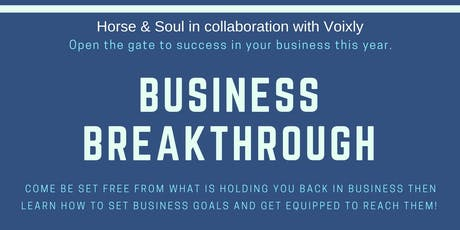 Business Breakthrough tickets