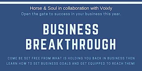Business Breakthrough tickets