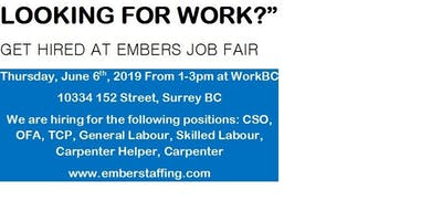 EMBERS Staffing Solution Hiring Fair