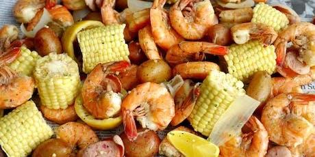 All you can eat Cajun shrimp boil tickets