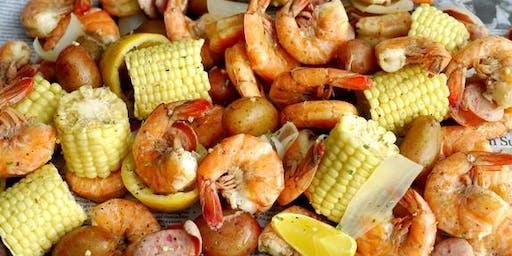 All you can eat Cajun shrimp boil