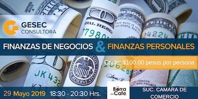 Finanzas de negocios y finanzas personales