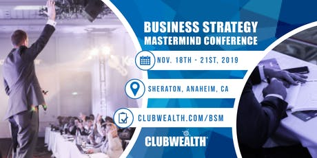 Business Strategy Mastermind Conference 2019 tickets