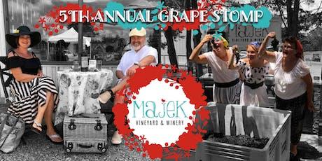 5th Annual Grape Stomp tickets