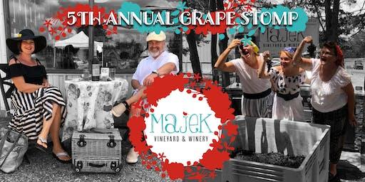 5th Annual Grape Stomp