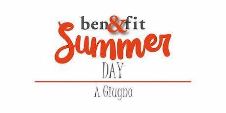 Benefit Summer Day '19 biglietti