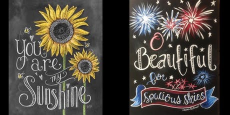Chalkboard Style...Painter's Choice tickets