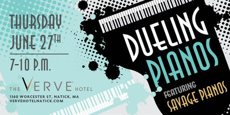 Dueling Pianos by Savage Pianos tickets