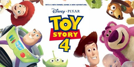 Toy Story 4 - Fundraising event tickets