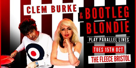 Clem Burke & Bootleg Blondie play Parallel Lines tickets