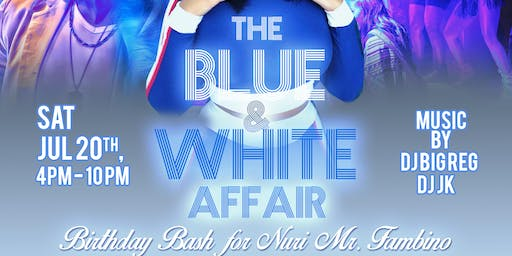 The Blue & White Affair 2019