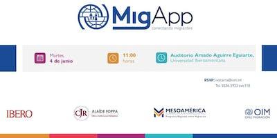 Lanzamiento de MigApp en México