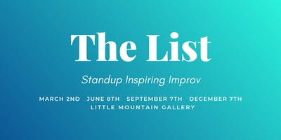 The List: Standup & Improv