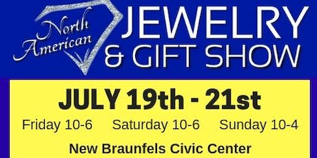 Summer Jewelry & Gift Show at New Braunfels Civic Center tickets