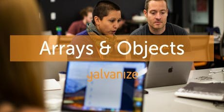 (ONLINE) Learn to Code: Arrays & Objects tickets