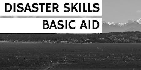 Disaster Skills: Basic Aid tickets