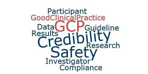 Good Clinical Practice (GCP) training session - MH 18 July 2019