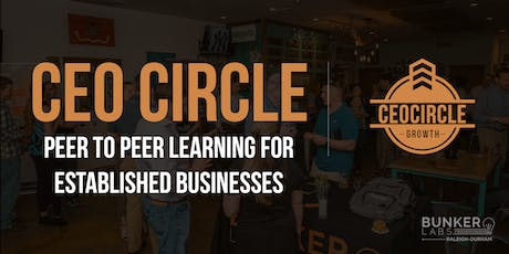 CEOCircle Raleigh-Durham: Peer to Peer Learning for Established Businesses tickets