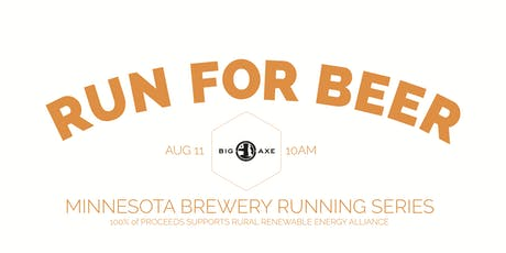 Sun Run 5k at Big Axe Brewing | Part of the 2019 MN Brewery Running Series tickets